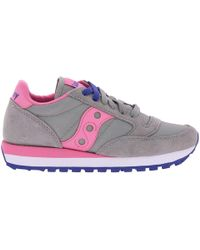 Saucony - Women's Jazz Original Trainers In Suede And Nylon With Eva Innersole - Lyst