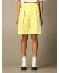 MSGM Pantalones cortos - Amarillo