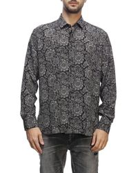 Saint Laurent Men's Shirt - Black