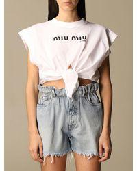 Miu Miu T-shirt - Multicolor