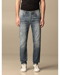 Siviglia Jeans in stretch washed - Blu