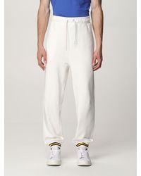 K-Way Trousers - White