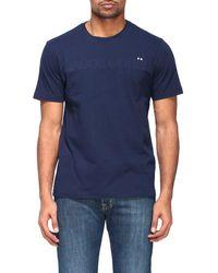 Jacob Cohen - Padded Logo T-shirt - Lyst