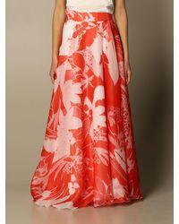 Hanita Skirt - Red