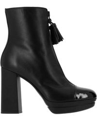 Hogan - Ankle Platform Boots - Lyst