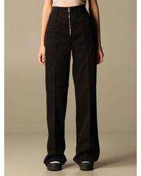 N°21 Trousers - Black