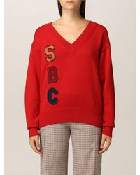 See By Chloé Maglia see by chloÉ donna colore - Rosso