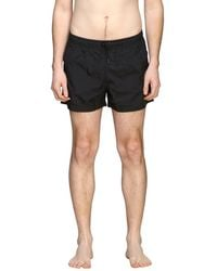Marcelo Burlon Boxer Costume With Bands With Logo - Black