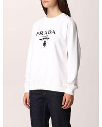 Prada Sweatshirt - White
