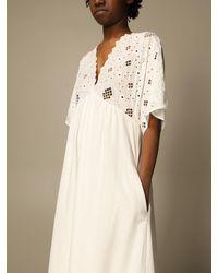Manila Grace Dress - White