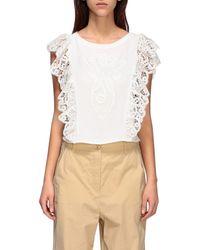 Manila Grace Women's Top - White