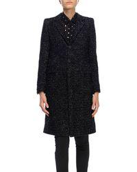 Saint Laurent - Coat Women - Lyst