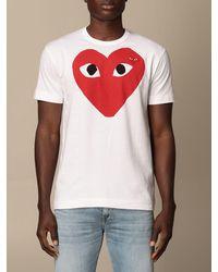 COMME DES GARÇONS PLAY - T-shirt - Lyst