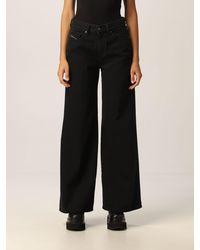 DIESEL Jeans akemi ampio - Nero