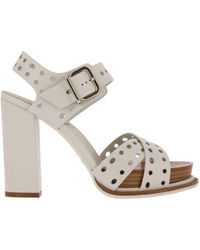 Tod's - Heeled Sandals Shoes Women - Lyst