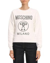 le dernier ae5a5 aaf98 Lyst - Pull femme Moschino Couture en coloris Rose
