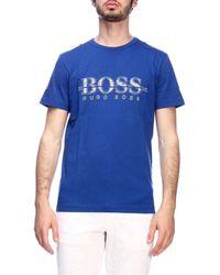 BOSS by Hugo Boss Men's T-shirt - Blue