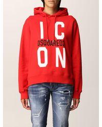 DSquared² Sweat-Shirt - Rouge