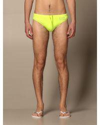 EA7 Swimsuit - Yellow