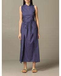 Alpha Studio Dress - Blue
