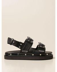 3.1 Phillip Lim Flat Sandals - Black
