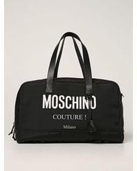 Moschino Travel Bag - Black