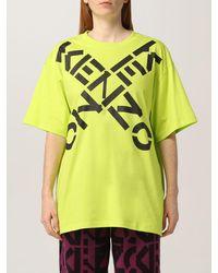 KENZO Camiseta - Amarillo
