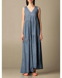 Manila Grace Dress - Blue