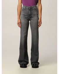 7 For All Mankind Jeans - Gris