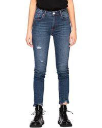 Frankie Morello Women's Jeans - Blue