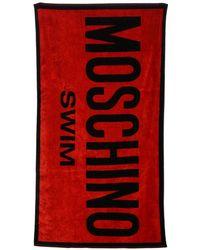 Boutique Moschino Beach Towel Women - Red