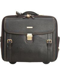 Brooks Brothers Travel Bag Suitcase Man - Black