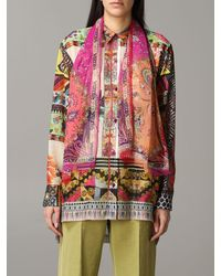 Etro Scarf With Paisley And Floral Pattern - Multicolour