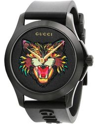 Gucci - G-timeless Watch 38 Mm Case In Pvd Brushed - Lyst