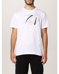 Les Hommes T-shirt - Blanc