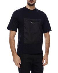 Prada Men's T-shirt - Black