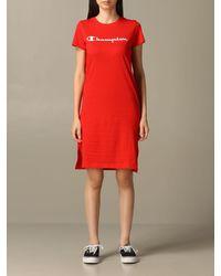 Champion Dress - Red