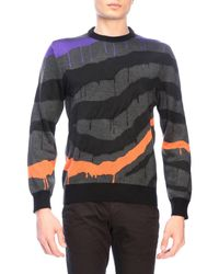 6ac20d5c35b Just Cavalli Nudie Sweater Arthur Chunky Nordic in Natural for Men ...