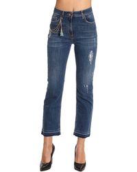 Elisabetta Franchi   Jeans Women   Lyst