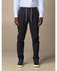 Eleventy Trousers - Blue