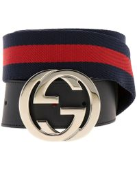 33c4e559521 Lyst - Gucci Belt in Natural for Men
