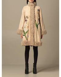 Dolce & Gabbana Manteau - Neutre