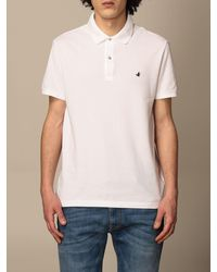 Brooksfield Polo Shirt - White