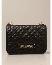Love Moschino Crossbody Bags - Black