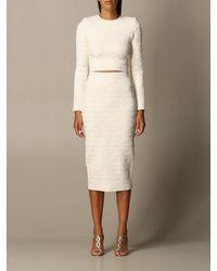 Elisabetta Franchi Suit Separate - Natural