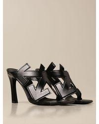 Off-White c/o Virgil Abloh Zapatos de tacón - Negro