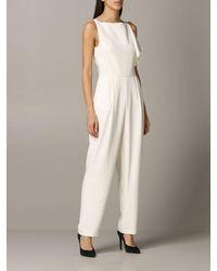 Emporio Armani Jumpsuits - White