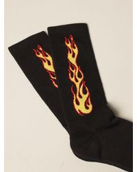 Palm Angels Calcetines - Negro