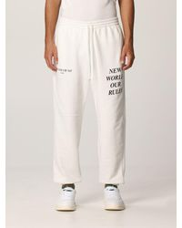 ih nom uh nit Trousers - White
