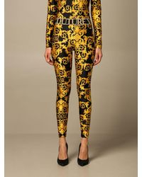 Versace Jeans Couture Trousers - Yellow